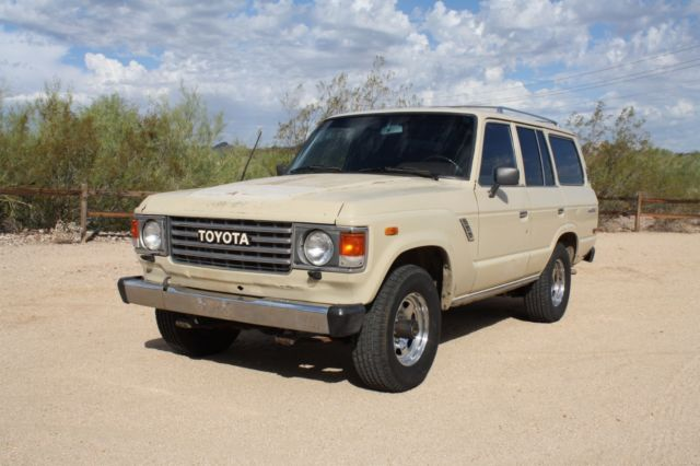 1986 Toyota Land Cruiser 4X4