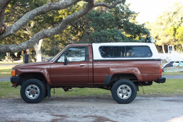 1986 toyota pickup 22re 4x4 for sale photos technical. Black Bedroom Furniture Sets. Home Design Ideas