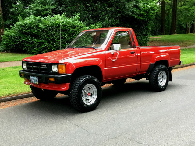 1986 Toyota Other Tacoma, Other, Pickup, 4x4, SR5, SUV, EFI, 22RE,