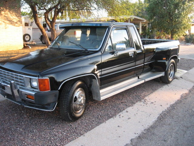 1986 toyota truck xtra cab 1ton dually for sale photos technical. Black Bedroom Furniture Sets. Home Design Ideas