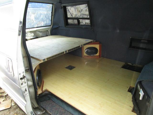1986 Toyota Van Wagon Cargo Camper Conversion Automatic ...