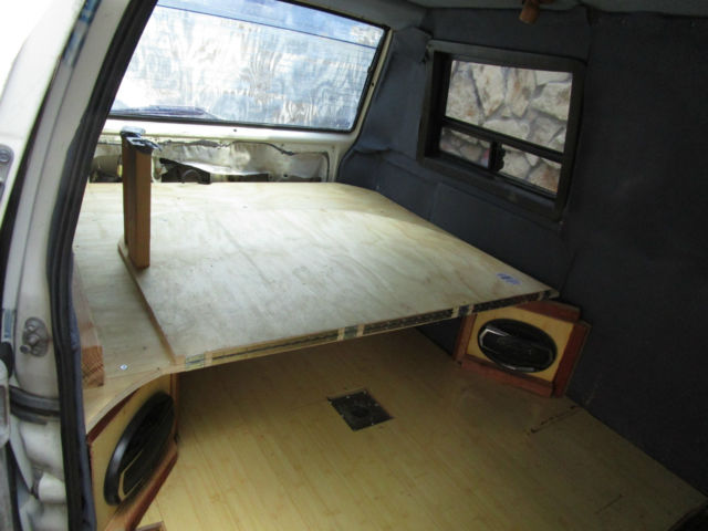 1986 toyota van wagon cargo camper conversion automatic 182k for sale photos technical. Black Bedroom Furniture Sets. Home Design Ideas