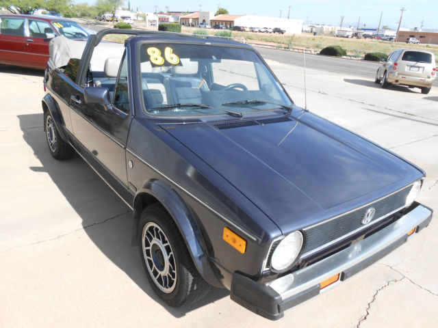 1986 Volkswagen Rabbit