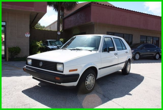 1986 Volkswagen Golf IMMACULATE LOW MILEAGE ORIGINAL NO RESERVE!