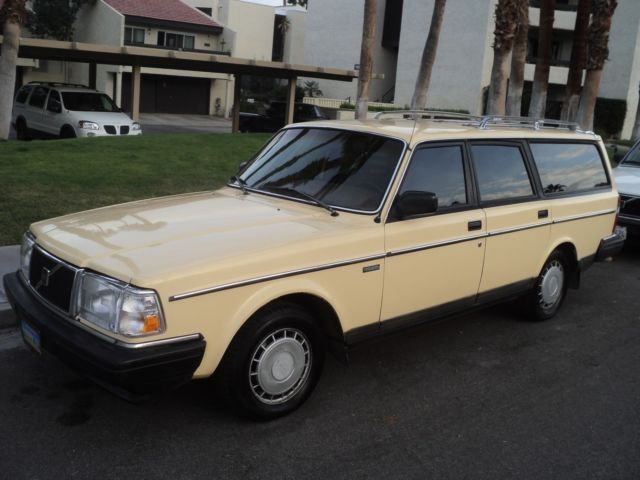 1986 Volvo 240 Dl Wagon Very Clean For Sale Photos Technical