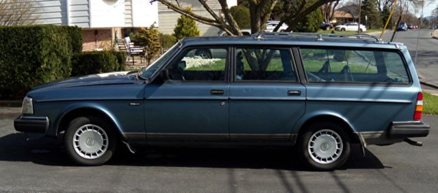 1986 Volvo 240 Station Wagon Manual Transmission 4 Speed W Od For