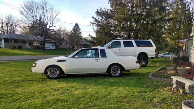 Used Tires Columbus Ohio >> 1986 WHITE BUICK T-TYPE TURBO T-TOP SAME DRIVETRAIN AS GRAND NATIONAL for sale: photos ...