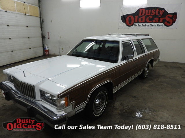 1986 Mercury Grand Marquis Colony Park Excel Cond 3rd Row Orig Ownr