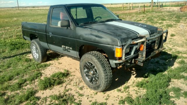 1986 5 D21 pick up SE model with a V6 5 speed manual trans