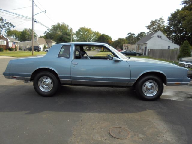 1986 Chevrolet Monte Carlo SS WONA BE