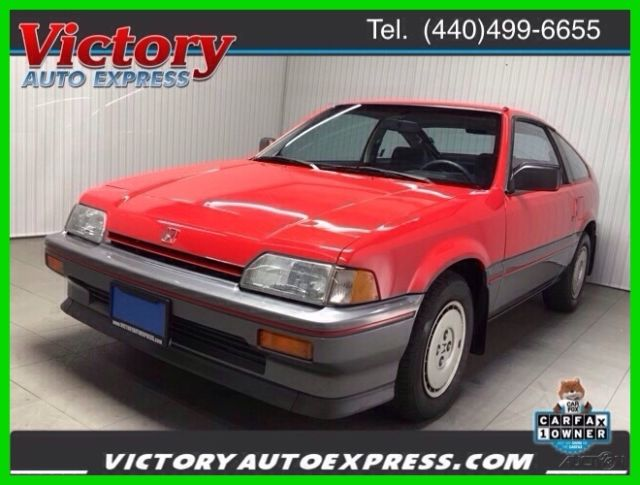 1987 Honda CRX 1500 CRX 2-Door Hatchback