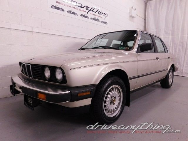 1987 BMW 3-Series 325i 5-Speed Manual