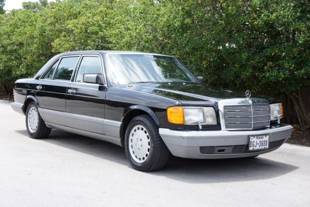 1987 Mercedes-Benz 500-Series  560 Series Extra Clean Serviced Must See