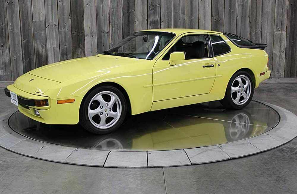 1987 Porsche 944 Summer Yellow Low Miles 5spd
