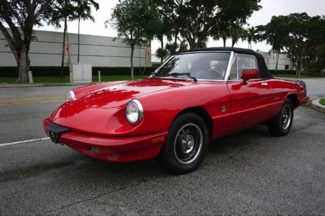 Alfa Romeo Spider Many New Parts And Seats Run Injectors Need - Parts for alfa romeo spider