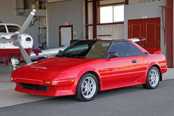 1987 Toyota MR2 GT Coupe 2-Door