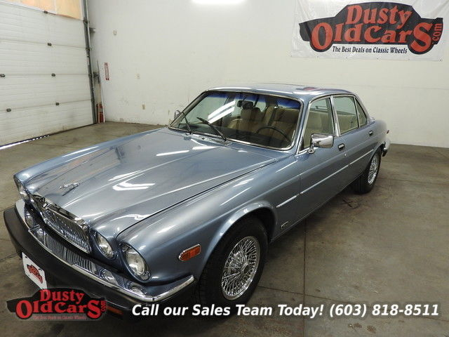 1987 Jaguar XJ Runs Body Interior Excellent 6 Cyl Drive Ready