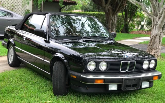 1987 BMW 3-Series leather