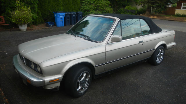 1987 BMW 3-Series Convertible