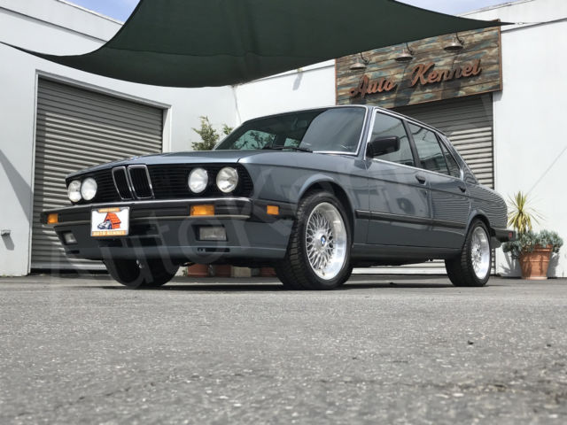 1987 BMW 5-Series 535i M-Look/Sport 5-Speed Manual