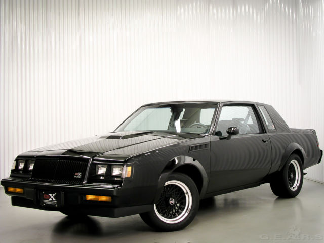 1987 Buick Grand National ASC McLaren GNX