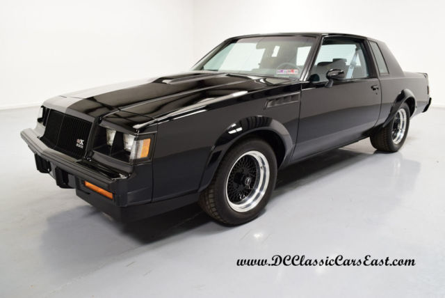1987 Buick Grand National #228, REAL GNX, 4300 MILES, DOCS, SHOWROOM CONDITI