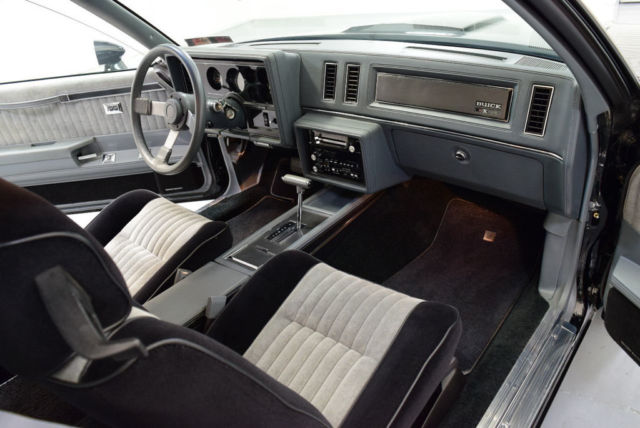1987 Black Buick Grand National #228, REAL GNX, 4300 MILES, DOCS, SHOWROOM CONDITI Coupe with Black / Gray interior