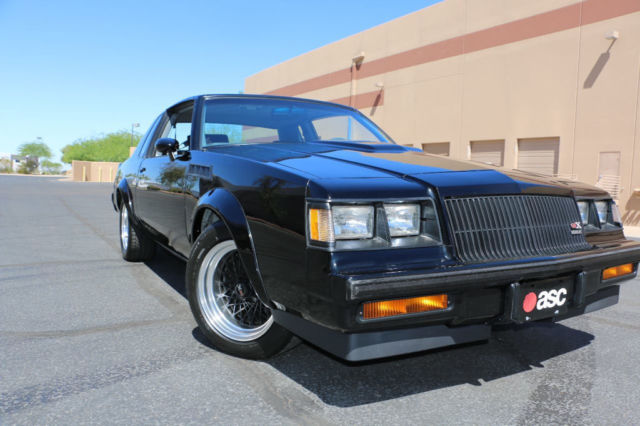 1987 Buick Grand National Grand National GNX # 242
