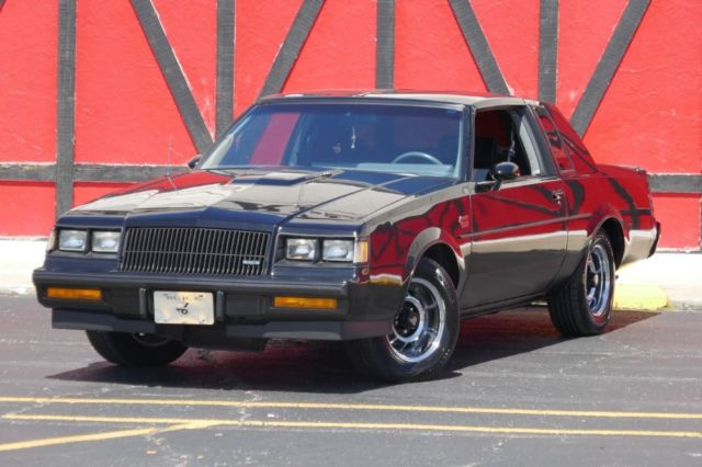 1987 Buick Grand National NEW LOW PRICE-ONLY $29,995