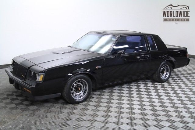 1987 Buick Grand National INCREDIBLE PAINT! LOW MILES!
