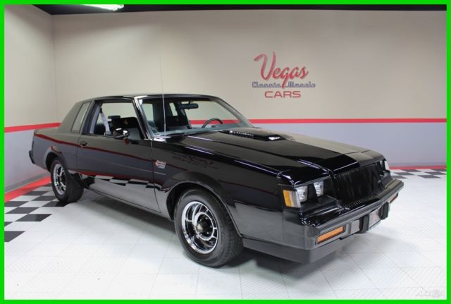 1987 Buick Grand National Grand National Turbo
