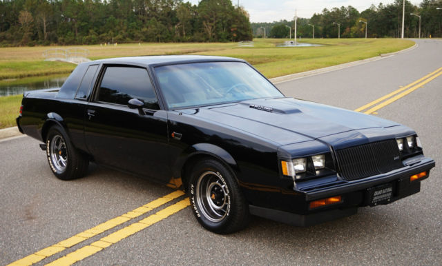 1987 Buick Grand National 3.8 Turbo