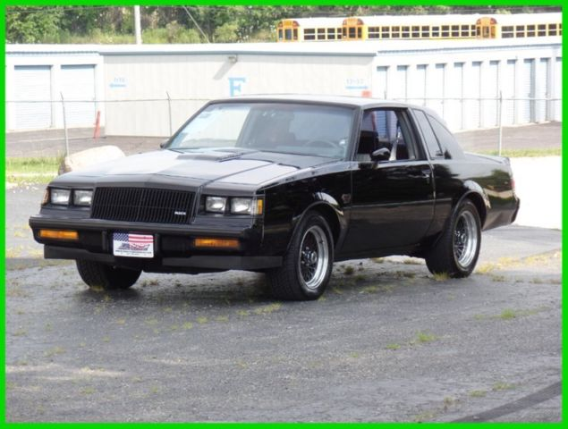 1987 Buick Regal Grand National Turbo