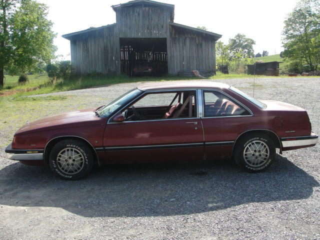 1987 buick lesabre t type for sale photos technical specifications description. Black Bedroom Furniture Sets. Home Design Ideas