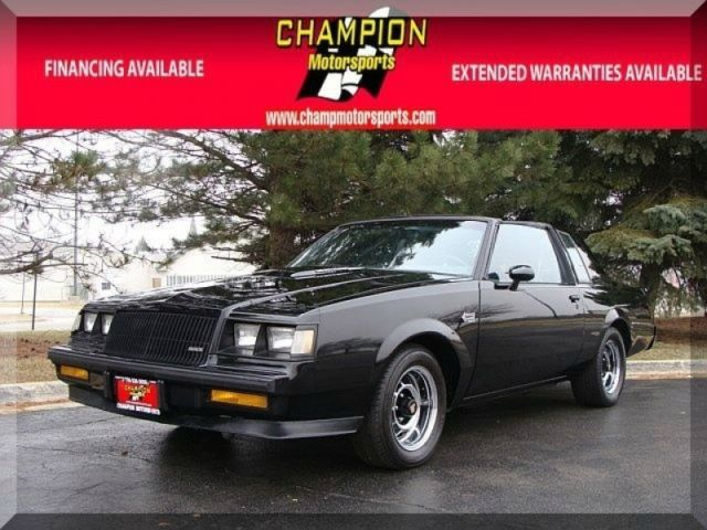 1987 Buick Regal Grand National 2dr Coupe