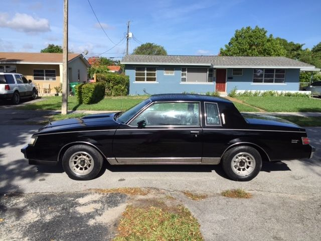 1987 Buick Grand National Limited turbo T