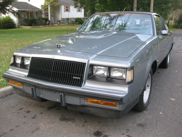 1987 Buick Regal Turbo charged 3.8 v6