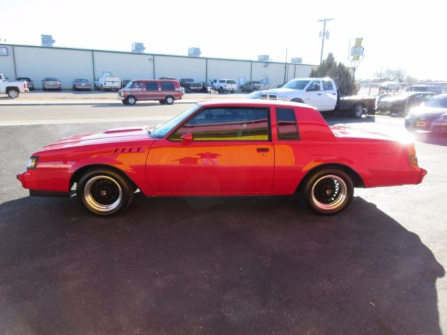 1987 buick regal t type grand national for sale photos technical specifications description. Black Bedroom Furniture Sets. Home Design Ideas