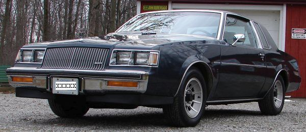 1987 Buick Regal T Package