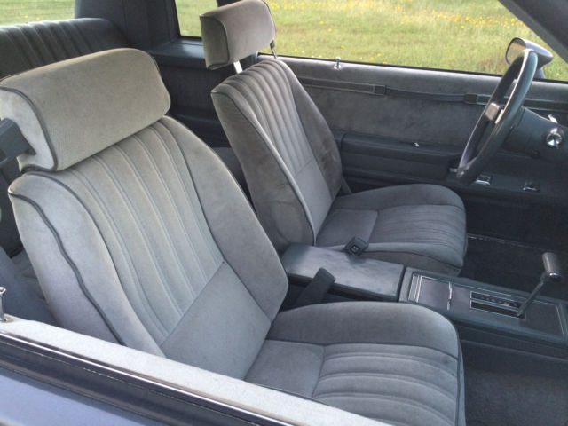 1987 Gray Buick Regal 2dr Coupe Li Coupe with Gray interior