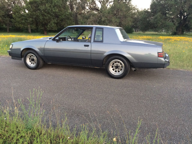 1987 Buick Regal T-Type, Turbo T, Grand National - Low ...