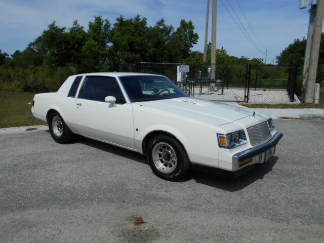 1987 Buick Regal Turbo T,White Burgandy Cloth,Buckets,Perf.Mods,Grand National!