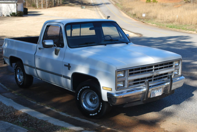 1987 c10 for sale photos technical specifications. Black Bedroom Furniture Sets. Home Design Ideas