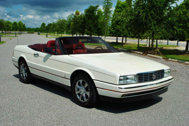 1987 Cadillac Allante Convertible 2-Tops only 67,935 Miles! Spectacular!