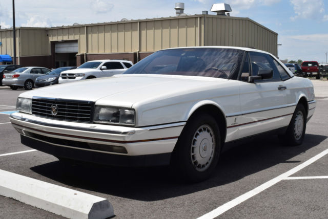 1987 cadillac allante hardtop convertible white all power. Black Bedroom Furniture Sets. Home Design Ideas