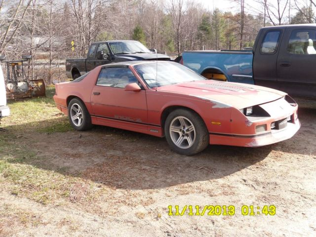 1987 camaro iroc z for sale photos technical. Black Bedroom Furniture Sets. Home Design Ideas