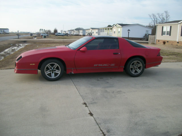 1987 camaro iroc z28 for sale photos technical. Black Bedroom Furniture Sets. Home Design Ideas