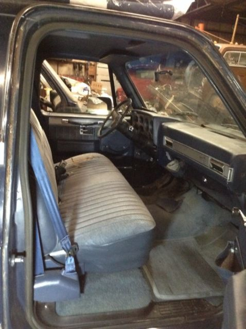 1987 Blue Chevrolet C-10 c-10 Standard Cab Pickup with Blue interior