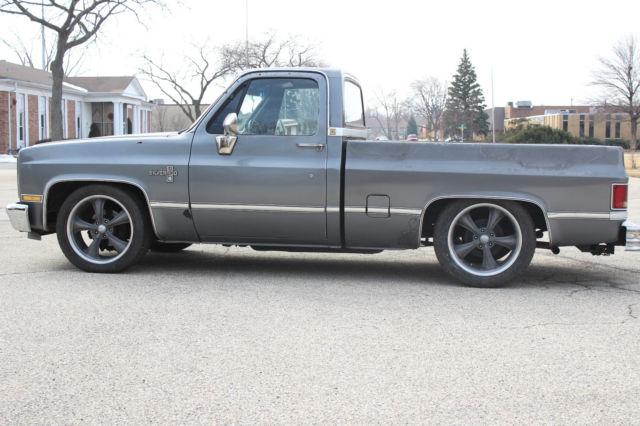 1987 chevrolet c10 silverado pick up truck shop truck. Black Bedroom Furniture Sets. Home Design Ideas