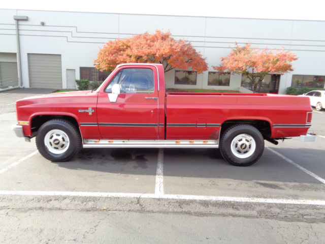 1987 Chevrolet C/K Pickup 2500 Scottsdale C20